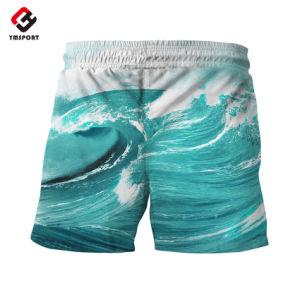 Spandex su ordinazione del poliestere 4 Shorts della scheda di stirata di modo