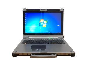 17.3 computer portatile robusto militare del grado Mil-Std-810 I7-7600 di pollice