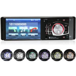 4.1 Polegada 12V 1 DIN Bluetooth estéreo para automóvel MP5 FM receptor de entrada Aux in-dash MP3 USB SD