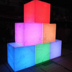 LEDの立方体のプロジェクトLEDの立方体の家具LEDの立方体ライト