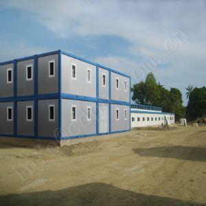 Plano acessível Pack contentor prédio com estrutura galvanizados a quente e painéis com isolamento térmico