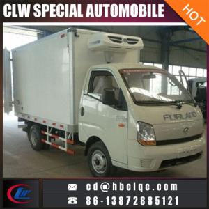 Camion refrigerato trasporto del congelatore della carne di prezzi bassi 1-1-2ton