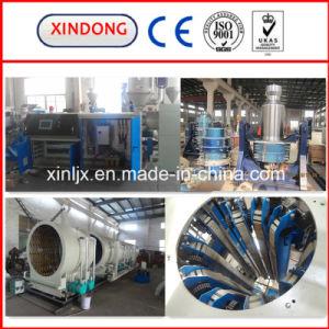 機械16-1200mmにプラスチック押出機をするHDPEの配水管