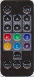 DVD à télécommande infrarouge ultra-mince à télécommande
