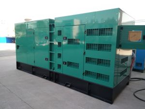 Sale (GDC350*S)のためのセリウムFactory Sell 280kw/350kVA Quiet Cummins Diesel Generator