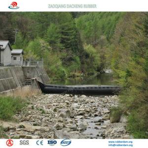 Água da barragem inflável de borracha/cheio de ar barragem inflável de borracha