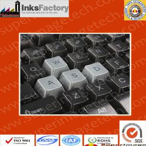 Tinta UV de seda para teclados, botellas de plástico, cosmético, papelería, la electrónica