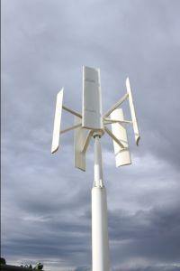 De verticale Turbogenerator van de Wind van de As