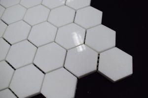 2017 Tegels van het Mozaïek van het Kristal van Griekenland de Witte Hexagon Marmeren voor Backsplashes