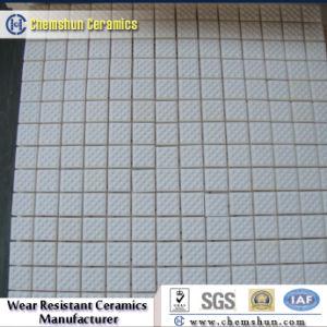 Haltbare Tonerde-keramische Hex Fliese auf Ineinander greifen