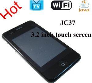 Celular com TV WiFi Dual quad band Java Cartão SIM (JC37)