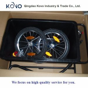 90L Plastic Tray Bicycle Trailer Cart