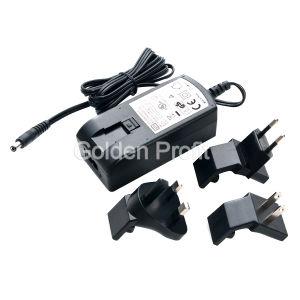 60 watts de adaptador da potência, carregador da potência; Fonte de alimentação