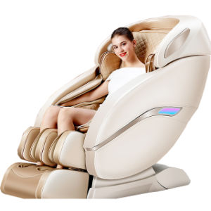 Ningde Crius C320L-13 Japonês Best Luxury Electric Corpo Massajador Factory 4D Zero Gravity Arnês Febre de Reclinação Shiatsu 3D Office cadeira de massagem