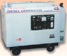 Бесшумный портативный дизельный генератор DEK3500SL)