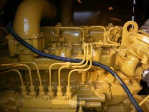originale del Giappone della Giallo-Vernice del motore Grader-40FT-Container-Shipping di Komtasu usato 15ton Gd505