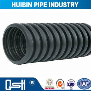 電気通信ダクトカプラーのHDPE/のPEの倍の壁の波形の穴があいた管