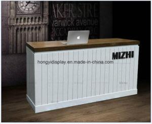 Moderne et blanc de la conception personnalisée comptoir de