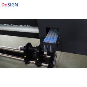 新しい自動ヘッドクリーニングの倍ヘッド1.8m XP600 Eco溶媒プリンター