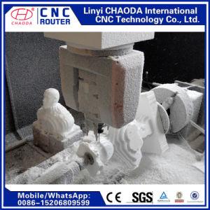Routeur de pierre CNC pour les grandes sculptures en marbre, des statues, piliers