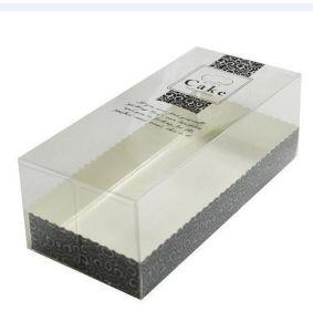 al por mayor PP de plástico transparente / PET pan / caja de pastel (caja de embalaje de alimentos)