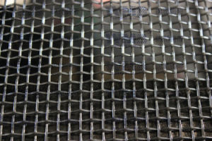 Low Carbon Steel Wireの正方形のWire Mesh Made