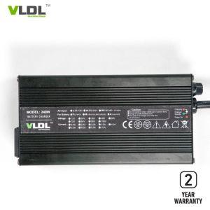 Carregador automático 36V 42V 5um carregador de bateria de lítio para Golfcarts eléctrico