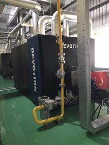 ガス、オイル、ヨーロッパバーナーが付いている二重燃料の熱湯ボイラー