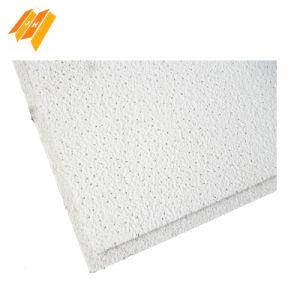 625*625mm des panneaux en fibre minérale Tegular conique