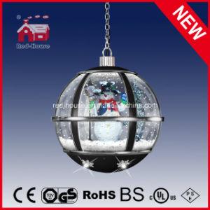 Clásico negro copos de nieve de las luces de LED lámpara colgante para decoración