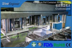 Grille d'aluminium contenant des aliments