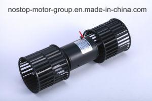 DC Motor calentador coche con dos paletas