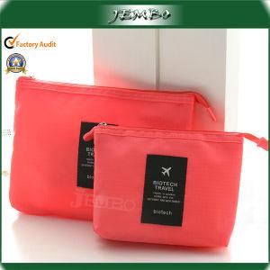 Logo Fashion cosmétique PVC sac à main pour les voyages