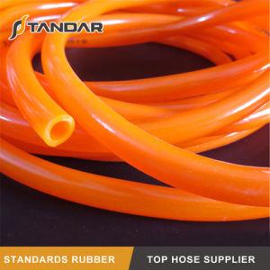 Baixa temperatura do tubo de borracha de gás de PVC flexível para o transporte de gás