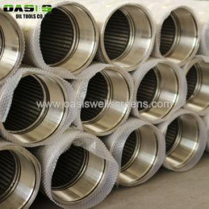De de lage Koolstof Gegalvaniseerde Draad Verpakte Schermen van de Put van het Water/Filters van het Water van het Roestvrij staal voor diep goed