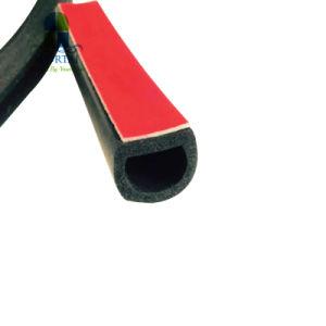 Automotive auto adherente de la puerta de coche insonorizadas impermeable junta EPDM burlete