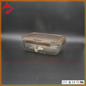 Recipiente de vidrio con tapa de polipropileno calienta Fiambrera