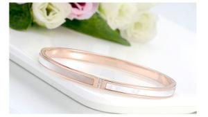 Bisutería bellas damas Pulsera Brazalete de acero inoxidable (HDX1030)