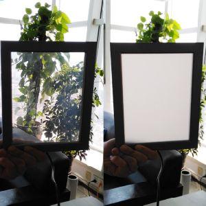 Transparent-Opaque Pdlc inteligente película/Película/película inteligente autoadhesivas