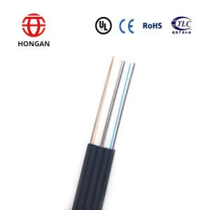 Super calidad doble lado a lado cae el cable de alimentación