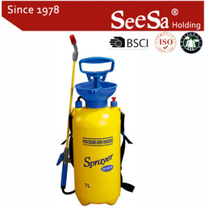 7L Jardín mano una presión de compresión de aire de la bomba de mochila pulverizadora (SX-CS7A)