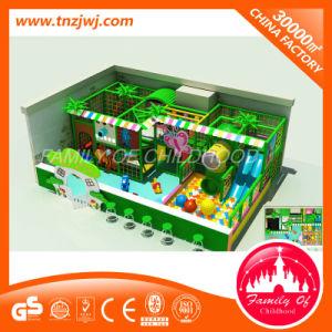 Kinderen op de leeftijd van het Binnen Plastic Stuk speelgoed van het Ongehoorzame Kasteel van Speelplaats 3-12