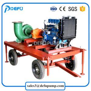熱い販売の農地の潅漑のための移動可能なディーゼル機関の組合せの流れポンプ
