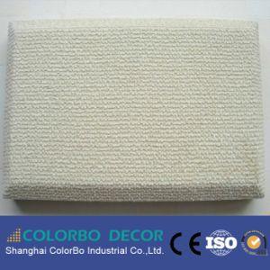 Le contrôle du bruit acoustique tissu fabriqué Panneau acoustique