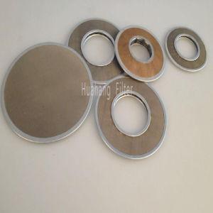 高品質によって焼結させるステンレス鋼のディスク・フィルタ