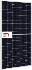 L'énergie de la moitié de cellules sinusoïdales Mono Panneau solaire 530W, 535W, 540W, 545W, 550W, 555W avec 182mmx182mm (OEM se sont félicités de la moitié de la cellule)