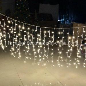 La decoración de jardín cortina LED de exterior de las luces de las decoraciones de Navidad