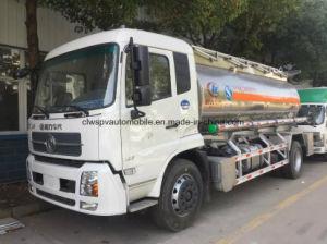 10000L Dongfengの燃料のタンカー10tのアルミ合金の給油タンクトラック