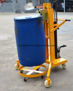 450kgは油圧ドラムトラック操作の任意選択重量を量るスケールが付いているペダルを踏んだ