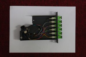 12 de Optische Cassette van de Vezel van kernen MPO/MTP